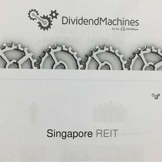 REITs Dividend Machines