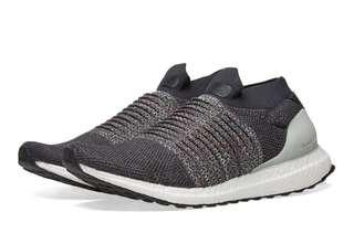 🚚 Adidas Ultra Boost Laceless Carbon