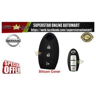 Nissan Silicon Car Key Cover