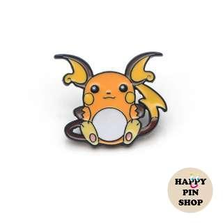[OTW] Raichu Enamel Pin - Pokémon pins