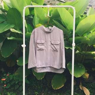 Philo Grey Blouse