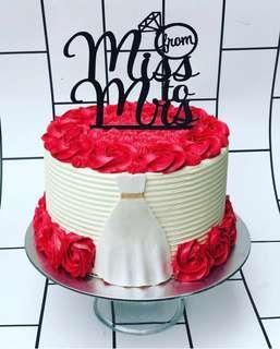 🚚 Bridal Shower Cake