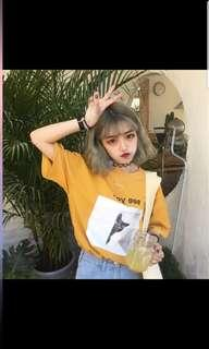 🚚 [PO] korean harajuku Tumblr uzzlang oversized t-shirt