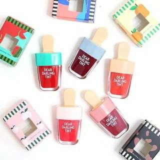 Etude house dear darling water gel tint . Isi 5