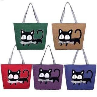 #MMAR18 cute cat canvas tote(Free Post)