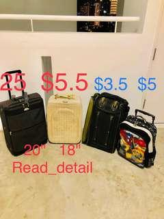 """🔥Also have 24"""". Kallang cheap cabin luggage bag travel suitcase"""