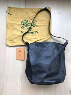 ILBISONTE il bisonte Italy made 義大利意大利名牌真皮袋real leather
