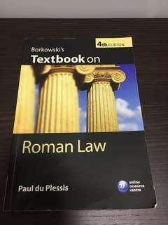 🚚 Borkowski's Textbook on Roman Law, Paul du Plessis (4th Ed)