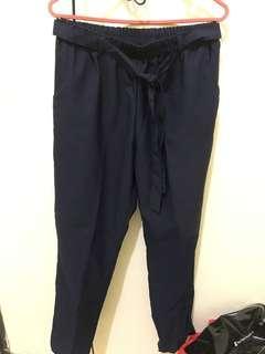 Celana Bahan - Navy
