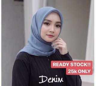 BELLA HIJAB READY STOCK