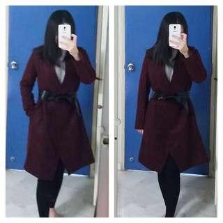 🚚 Spring coat autumn jacket with sash