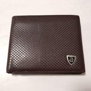 BN Men Brown PU Wallet