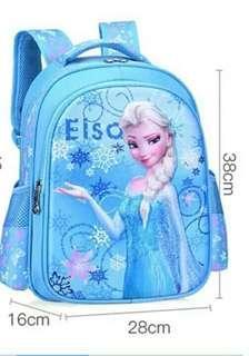 Elsa Frozen Girl School Bag