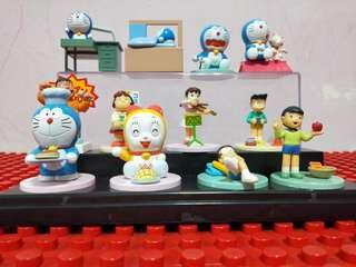 [WHOLE SET] Doraemon & Friends Miniatures