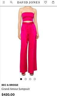 Bec & bridge silk jumpsuit