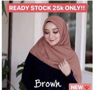BELLA HIJAB BROWN