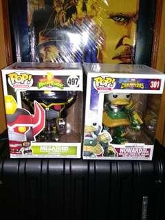 a18f9e74895 Mighty Morphin Power Rangers Megazord Black   Gold and Howard the Duck  Marvel 6