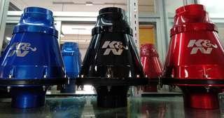 K&n filter intake cool system
