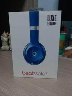 Wired Beats Solo2 Luxe Edition Blue.