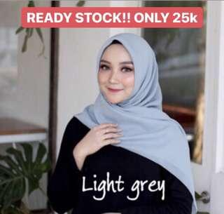 BELLA HIJAB LIGHT GREY