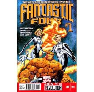 FANTASTIC FOUR #1 (2013) 1st Issue! Marvel Now!