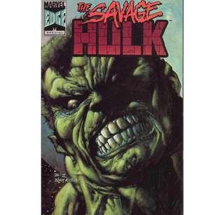 THE SAVAGE HULK #1 (1996) HTF One-shot