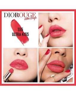 [NEW] Dior Rouge Ultra Rouge 555 Ultra Kiss
