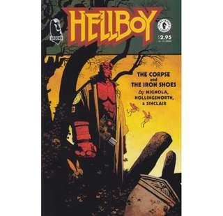 HELLBOY The Corpse and The Iron Shoes (1996) One-shot