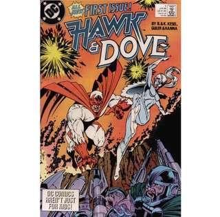 HAWK & DOVE #1 (1989) 1st Issue!