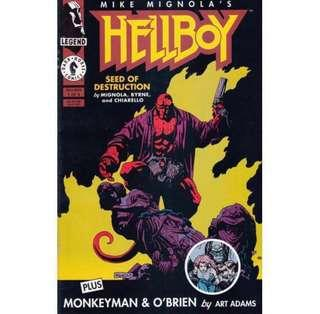 HELLBOY: SEED OF DESTRUCTION #1 (1994) 1st issue! 1st Hellboy in own title