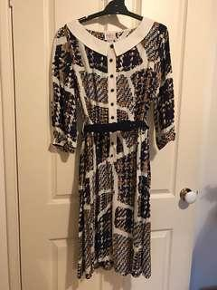 Leona Edmiston shirt dress size 1 sample