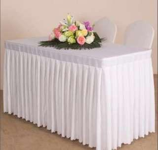 🚚 Party Tablecloth or wedding reception table cloths