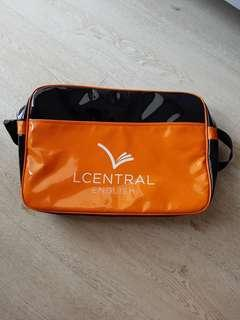 Almost Brand New LCentral School Bag