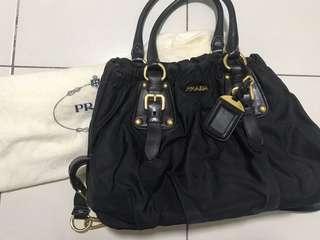 Prada Black Sling bag