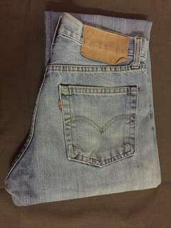 SELVEDGE LEVI'S 501 JEANS MADE IN USA
