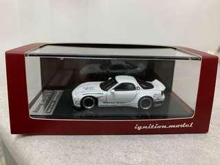 全新未開封 Ignition Model IG 1/64 Rocket Bunny RX-7 (FD3S) White