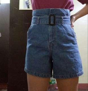 Korean Highwaisted Denim Short