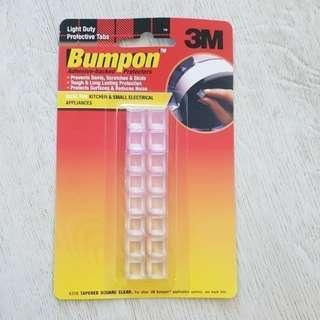 60% OFF 3M Bumpon 5318 Hemispherical Square Clear