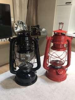 煤油燈擺飾品一個