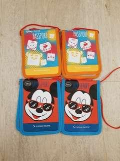 Children Passport Holder by Cathay Airlines!! BRAND NEW!!