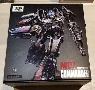 Transformers 變形金剛 威將 M01 柯柏文
