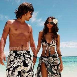 Couple Beach Wear
