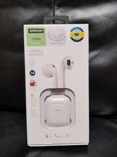 全新 Joyroom 藍牙耳機 bluetooth headset bt 5.0 可單耳 TWS 直無線