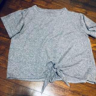 🚚 Grey loose fit TOP
