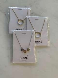 $60 4x seed necklaces pendants charms