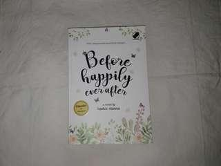 Novel Before Happily Ever After - Sophia Hanna