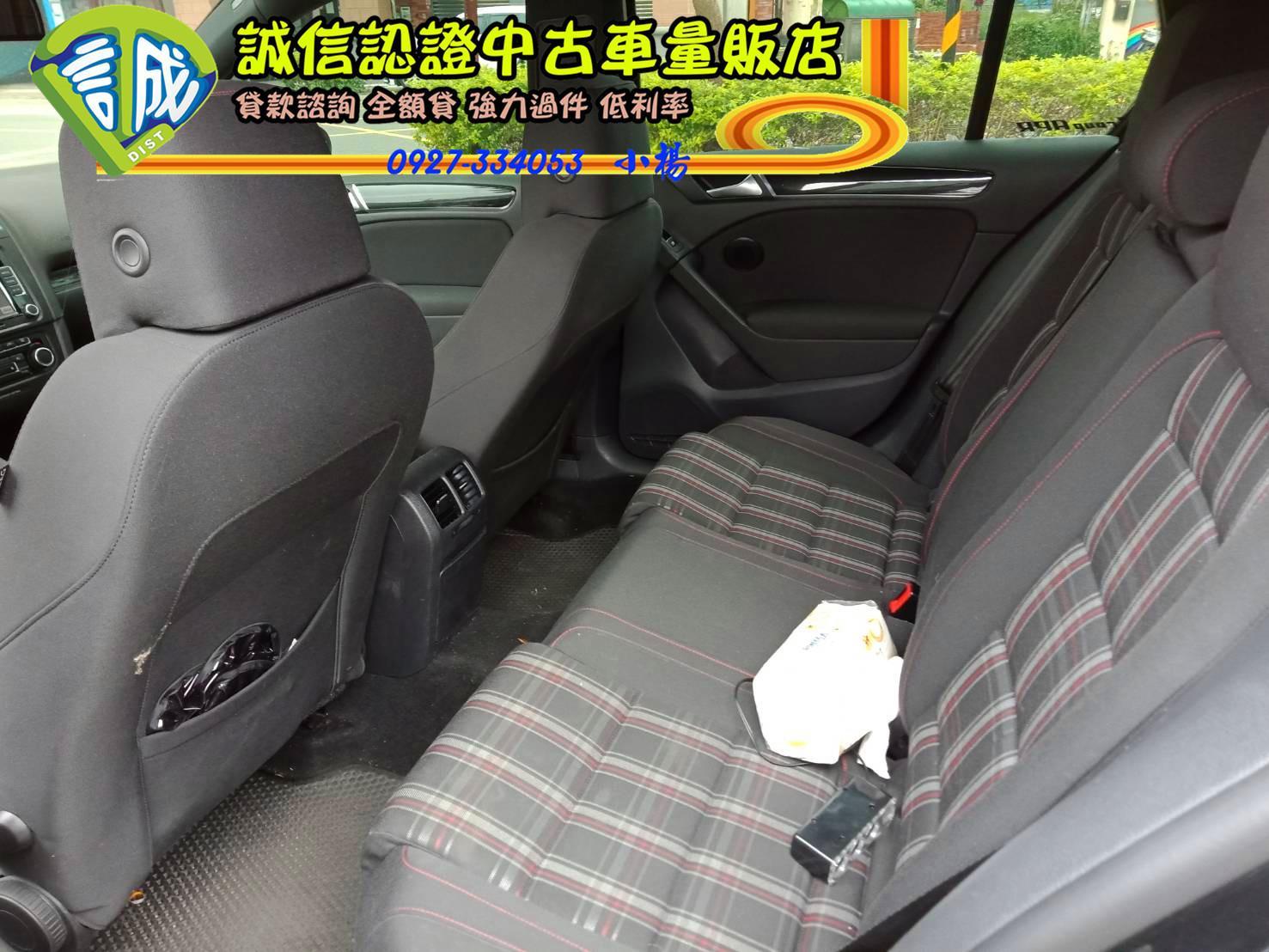 2012年 GTI 計程車黃 回頭率極高