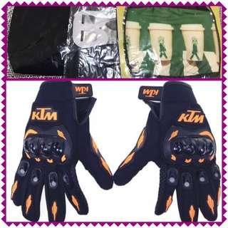 🆕Motorcycle Full finger gloves set