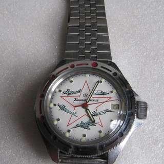 -勿壓價-蘇聯機械錶,手動上鍊,