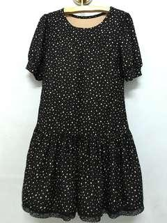 Polka dot Dress (Large size) #MMAR18